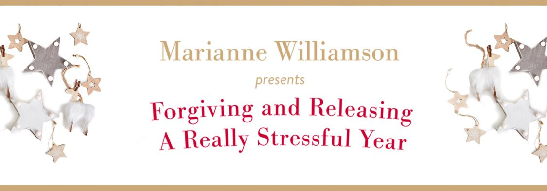 FORGIVING AND RELEASING A REALLY STRESSFUL YEAR